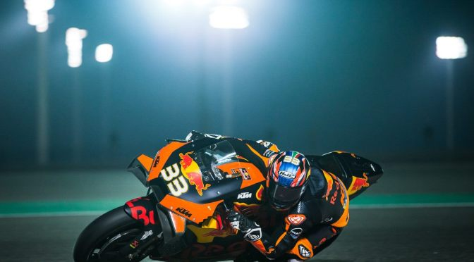 BRAD PLEASED WITH QATAR TEST PROGRESS AND EAGER FOR THE GP