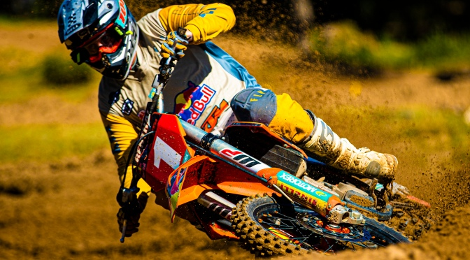 SA MOTOCROSS – NO STOPPING PURDON IN PE
