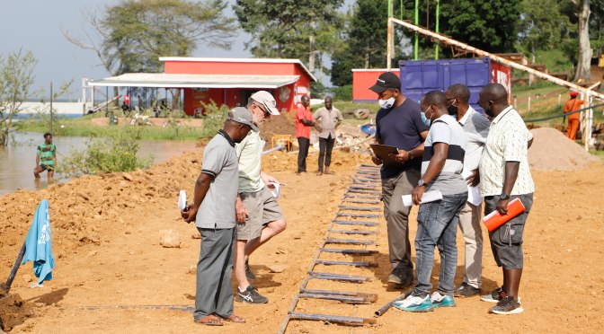 UGANDA'S RACE TRACK INSPECTION BY FIM AFRICA DIRECTOR