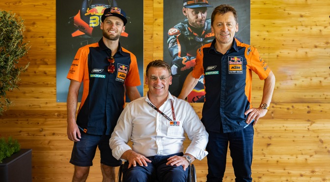 BRAD INKS NEW MOTOGP™ DEAL UNTIL 2024 TO TAKE KTM ALLIANCE UP TO TEN YEARS