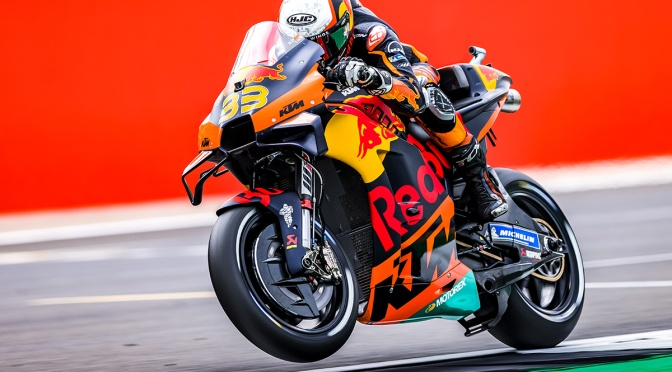 BRAD LEADS THE KTM CHARGE WITH 12TH ON THE GRID FOR THE #BRITISHGP