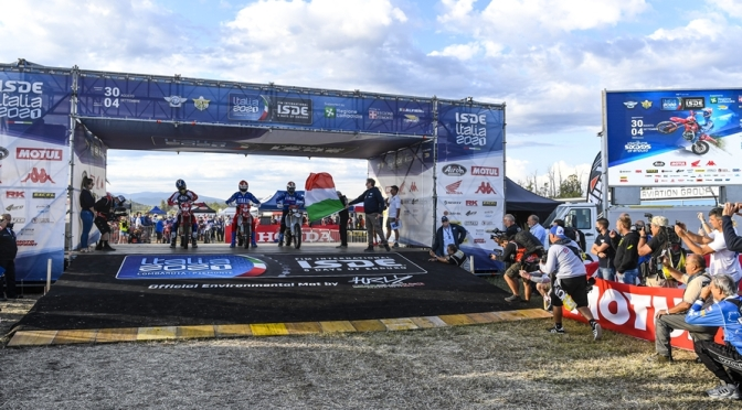 ISDE DAY TWO – ITALY REMAIN ON TOP
