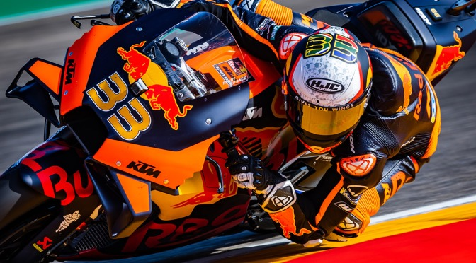 BRAD TO START THE ARAGON GP FROM TWELFTH ON THE GRID