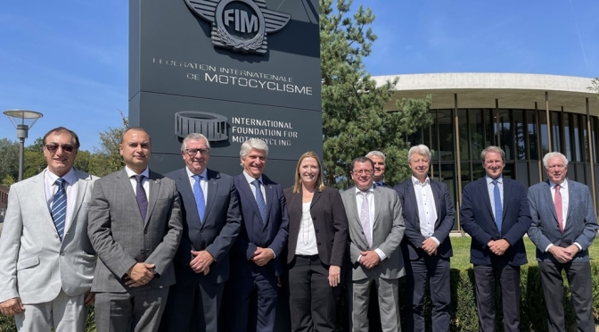 THE FIM BOARD OF DIRECTORS MET AT THE FIM HQ IN MIES (SWITZERLAND) AND VIA VIDEOCONFERENCE ON 8 AND 9 SEPTEMBER 2021