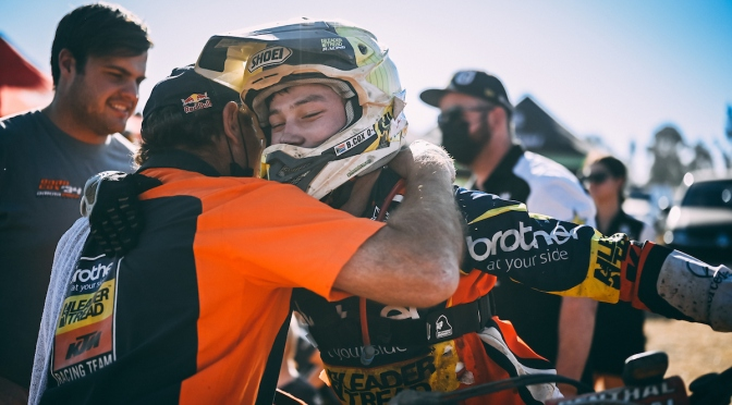 COX CLAIMS ELUSIVE OVERALL VICTORY